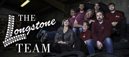 The Longstone Classic Tyres Team