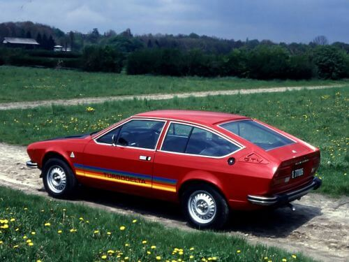 1979 Alfa Romeo Alfetta GTV 2000 Turbodelta CN36