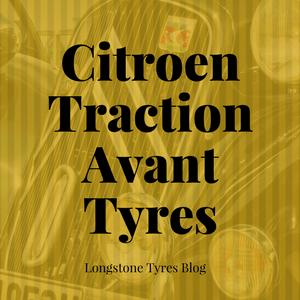 Citroen Traction Avant Tyres