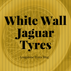 White Wall Jaguar Tyres