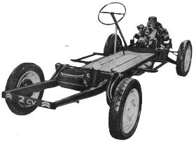 Citroen 2CV Tyres
