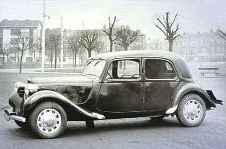 citron traction avant tyre