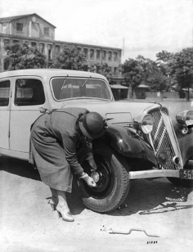 Citroen Traction Avant Tyres