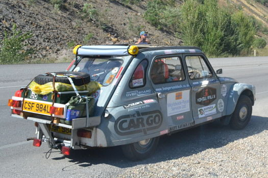 CITROEN DYANE RALLY FOR CHARITY