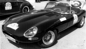 Jaguar E Type Tire