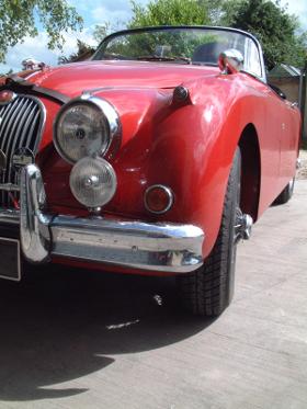 Jaguar XK Tyre