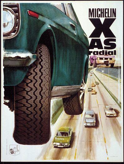 Michelin XAS Tyres