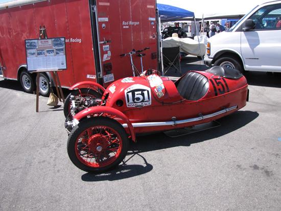 Morgan 3 Wheeler Tires