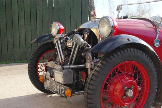 Morgan 3 Wheeler Tyres