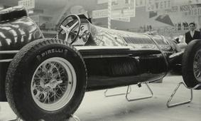 Alfa Romeo 159 with PIRELLI Tyre and Borrani Wheel
