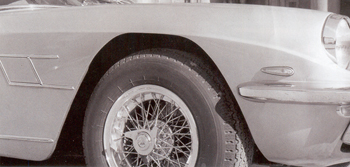 Borrani Wheel, PIRELLI CINTURATO ™, Maserati, perfect!