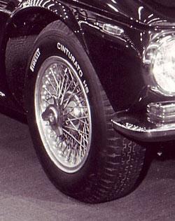 Iso GT with PIRELLI CINTURATO ™ Tyre and Borrani Wheel