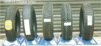 E-Type 185R15 Tyres