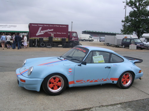 295/40VR15 tyres on a Porsche