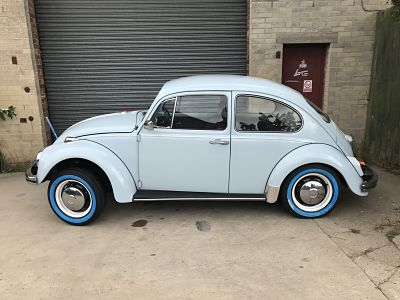 White Wall Beetle Tyres