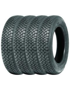 Set of 4 145SR15 Michelin XZX