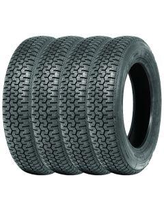 Jeu de 4 165SR15 Michelin XZX