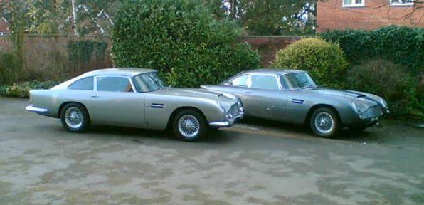 Aston Martin DB6 Tyres
