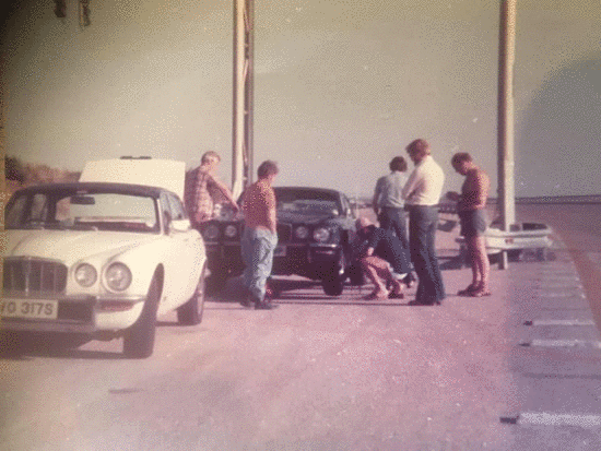 Testing Jaguar XJ6 P5 Tires